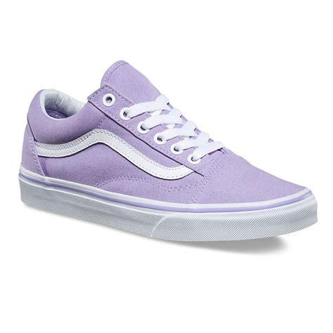 lavender sneakers sneakers vans skool lavender true white snowboard zezula