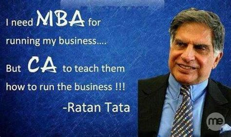Mba In Tata chartered accountant salary in india agarwal ca cs