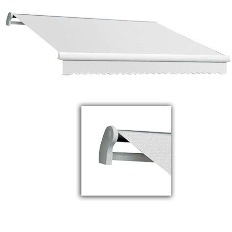 acrylic awning awntech 10 ft lx maui manual retractable acrylic awning