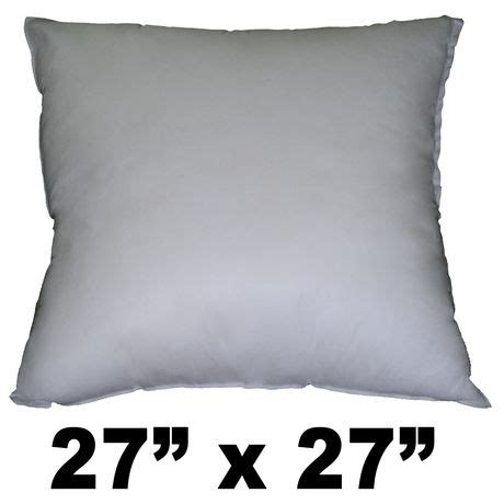 Walmart Canada Pillows by Hometex Square Polyester Fill Pillow Form Walmart Canada