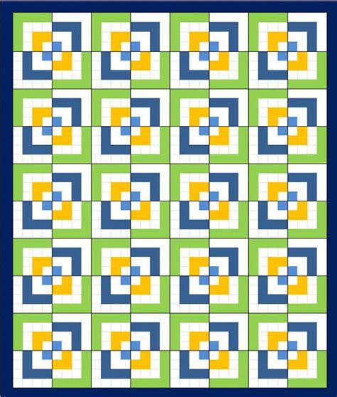 Half Log Cabin Quilt Pattern by Half Log Cabin Quilt Pattern Favequilts