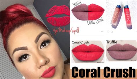 Moodmatcher Liquid Matte Coral Crush simple makeup for bold ft new dose of colors l coral