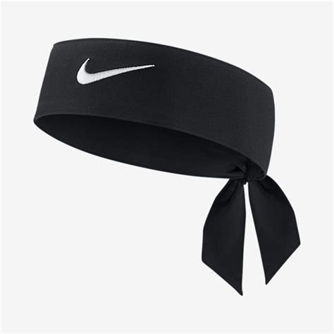 Headband Nike new womens nike tie dri fit 2 0 black headband tennis