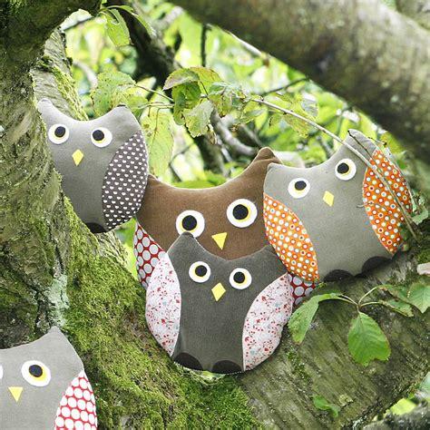 Handmade Owl Cushion - lucky dip handmade owl cushion by berry apple