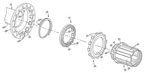 Hub Freehub Bmx Gear Kiri shimano scylence bicycle hub freehub design patent 5