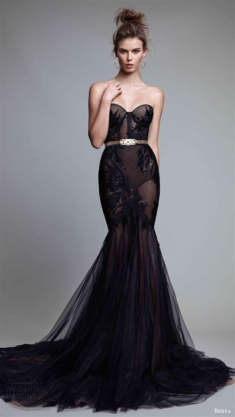 Evening Wedding Gown by 25 Best Ideas About Black Evening Dresses On