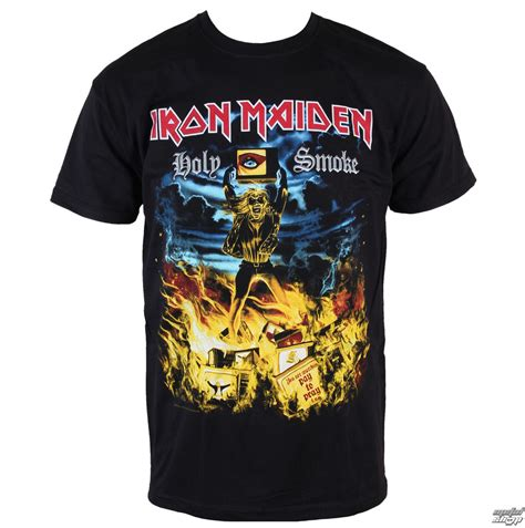 T Shirt Metal Iron Maiden t shirt metal s iron maiden holy smoke rock