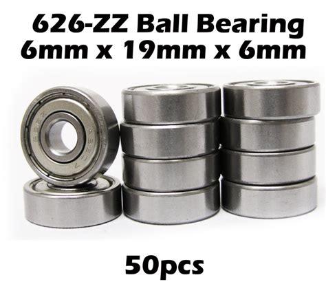626 Zz Nsk Miniatur Bearing 50 626 2zz quality bearing 626 zz bearings 6x19x6 mm