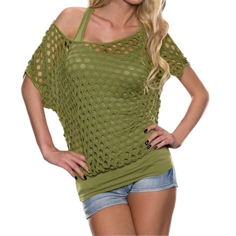 Hollow Casual Top 26968 lisli s stylish hollow out pullover tops tees shirts clothes for summer casual