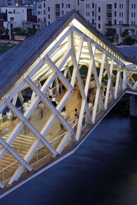 bridge pattern in c gallery of more images of the quingpu pedestrian bridge 21