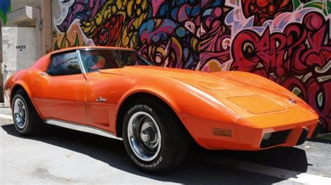 old car manuals online 1975 chevrolet corvette electronic valve timing 1975 corvette manual 44 000 miles atomic orange rare for sale chevrolet corvette 1975
