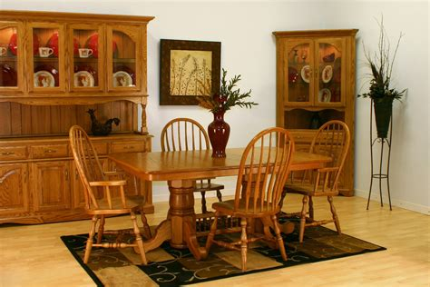 Solid Oak Dining Room Furniture Dining Room Oak Dining Room Set Oak Dining Room Set With Hutch Solid Oak Dining Table And