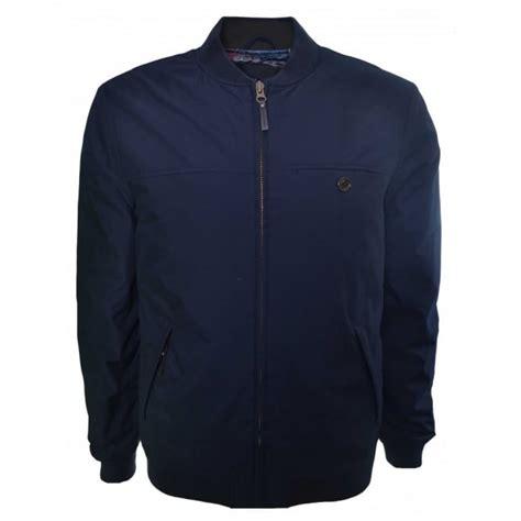 Jaket Bomber Tripple Hizi Navy ted baker s fernley navy blue bomber jacket