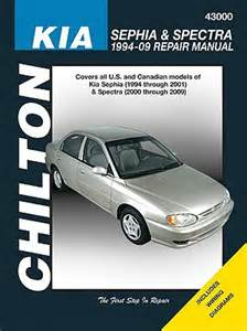 kia sephia spectra 1994 09 repair manual by joe l