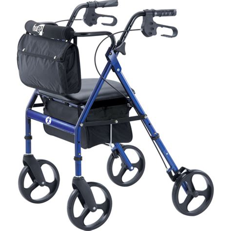 walkers with a seat hugo elite rollator walker with seat backrest and saddle