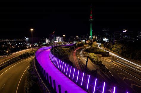 light on the path la nuova pista ciclabile rosa della nuova zelanda leganerd
