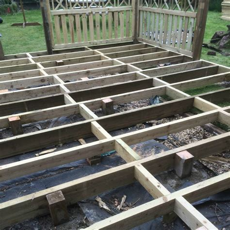 timber deck joists pressure treated fsc certified