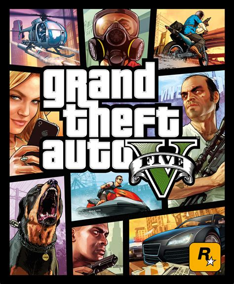 Gran Theft Auto 5 Logo by Widescreen Gaming Gta 5 1649 Logo Cover Art Grand Theft