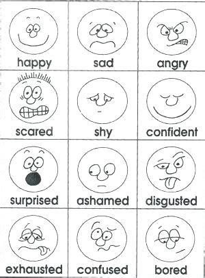 coloring pages emotions preschoolers feelings coloring page feelings and emotions coloring