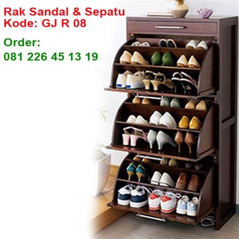 Rak Sepatu Dan Sandal rak sepatu dan sandal kayu jati garuda jepara furniture