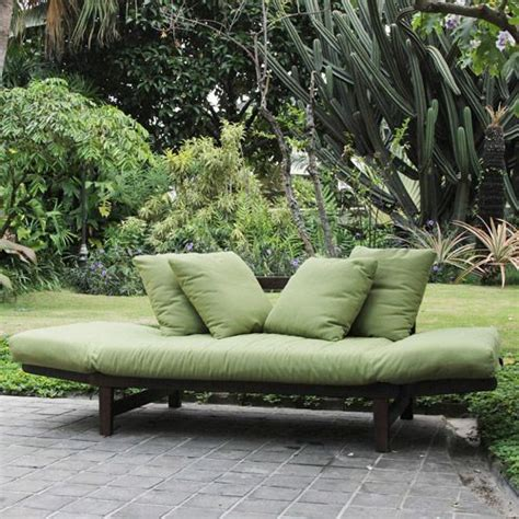 outdoor futons better homes and gardens delahey studio day sofa with
