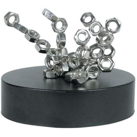 magnetic sculpture desk toy brand new executive desk magnetic nuts bolts toy model