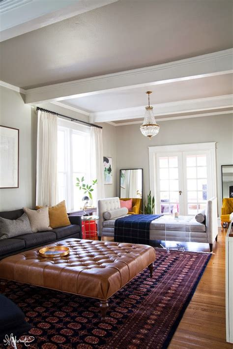 how to decorate a large family room laura s living room addressing the form and the function