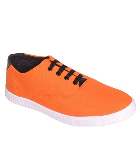orange shoes for sukun orange casual shoes price in india buy sukun orange