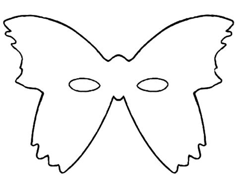 butterfly mask template imagery camila oliveira fairclough