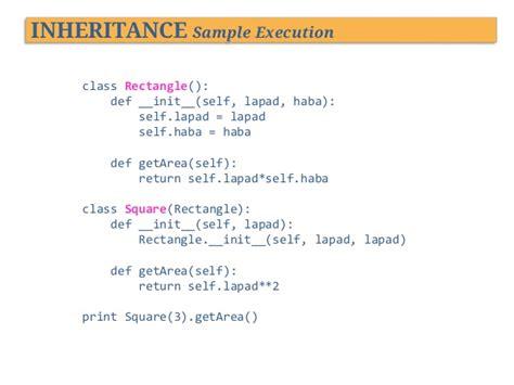 python programming viii inheritance and polymorphism
