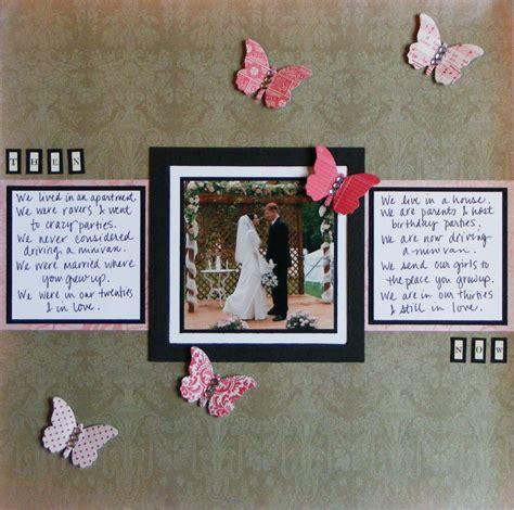 scrapbook wedding layout ideas wedding scrapbook page ideas wedding scrapbook pages
