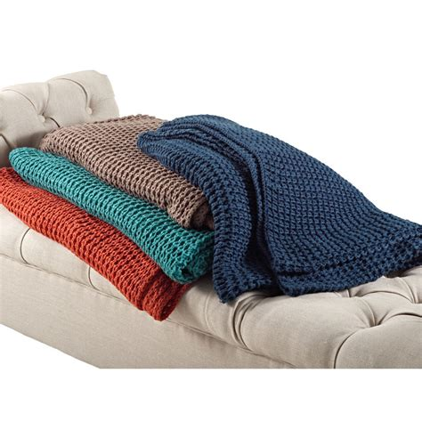 knit throw blanket knitted design throw blanket ebay