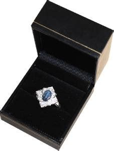 Sapphire 2 65 Cts 2 65 cts sapphire white topaz ring solid
