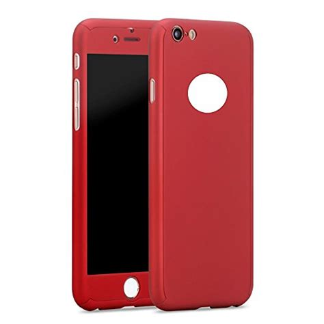 iphone 6s 6 plus 360 with exclusive tempered glass screen cover luxury shockproof