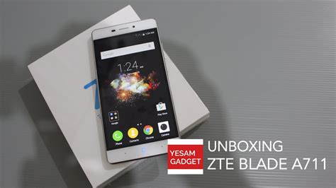 Handphone Zte Blade A711 unboxing impression zte blade a711 blade x9 indonesia