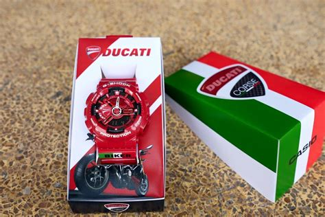 Casio G Shock Ga 110 Serie Ducati live photos g shock ga 110 ducati custom