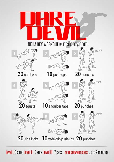 daredevil workout sport workout
