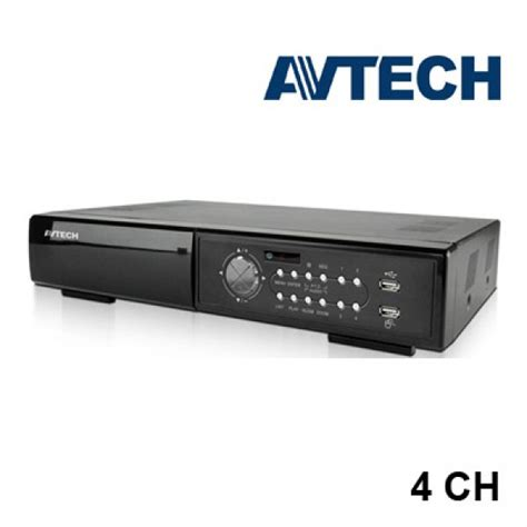 Dvr 8 Channel Avtech Avz 207 dvr avtech avc791 4ch avtech dvr productos