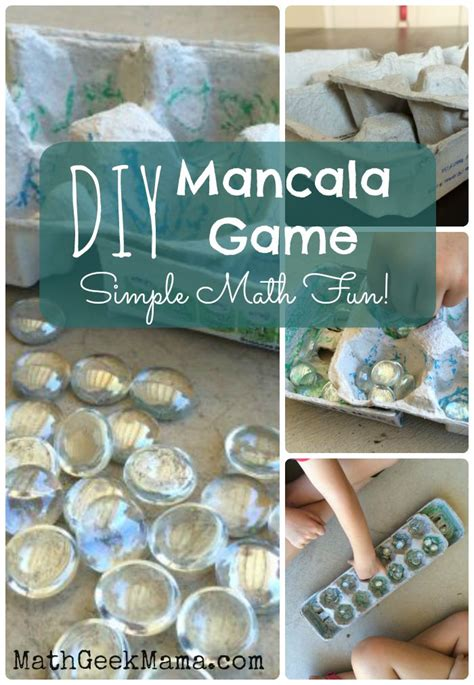 design your own house games for kids diy mancala game board learning math through play