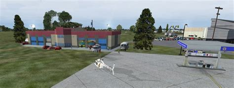 abraham lincoln capital airport scenery for fsx