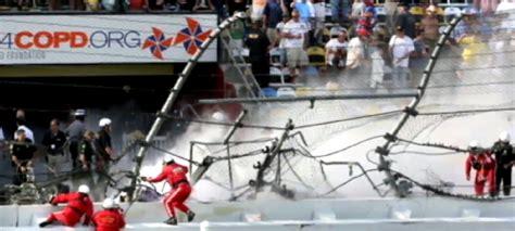 dozen fans injured  daytona nascar race torque news