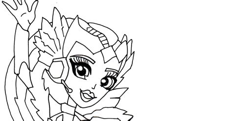 sw monster coloring page free printable monster high coloring pages astranova