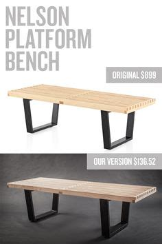 modern furniture knockoffs west elm benches and tutorials on