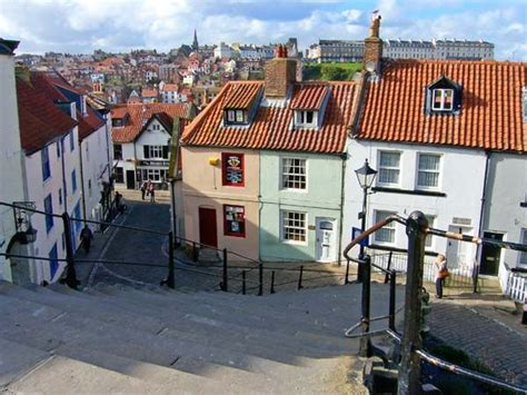Cottages In Whitby by Church Cottage Whitby York Moors And Coast