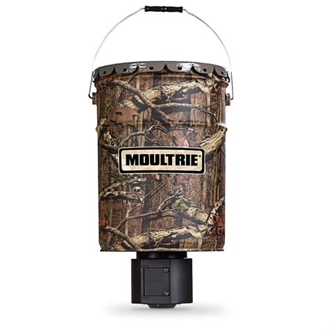 Clearance Deer Feeders Moultrie 6 5 Gallon Hanging Deer Feeder 582790