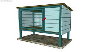 Rabbit Hutch Build Chicken Coop Plans Free Free Garden Plans How To Build