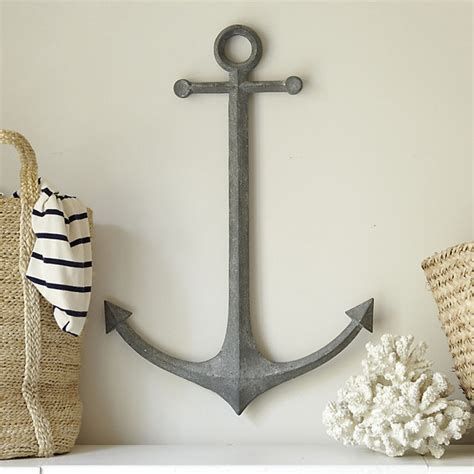 traditional wall decor metal anchor wall decor traditional artwork by