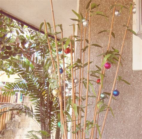 Decorating Ideas Lovely Images Of Colorful Baubles Bamboo Sticks | decorating ideas lovely images of colorful baubles bamboo