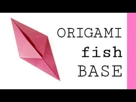 Origami Fish Base - origami fish base
