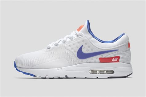 Nike Airmax Zero 2 nike air max zero ultramarine the drop date